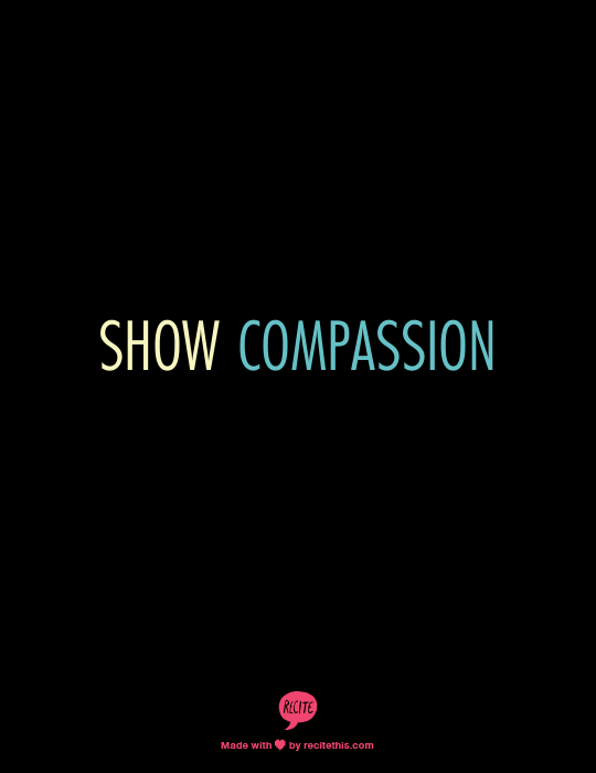 Week 10 to Mindful Transformation: Show Compassion