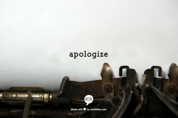 3-apologize