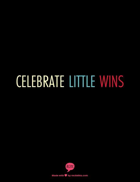 Week 45 to Mindful Transformation: Celebrate Wins