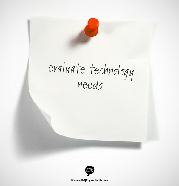 Week 46 to Mindful Transformation: Evaluate Technology