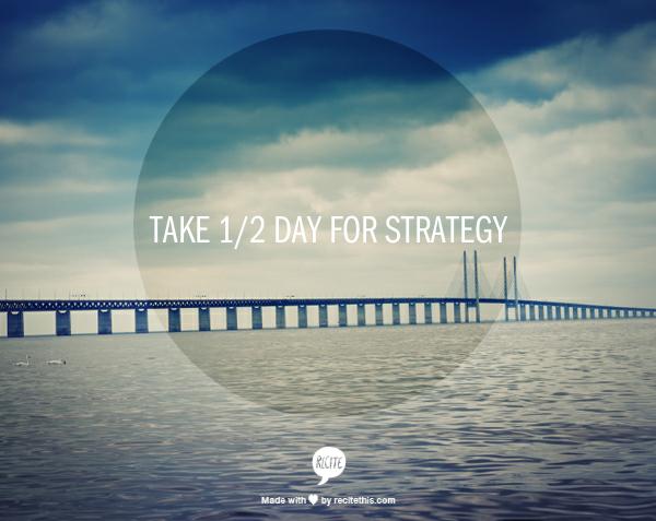 Week 47 to Mindful Transformation: Strategize