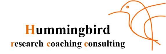 Hummingbird research coaching consulting